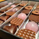 vyroba čokoládových bonbónů
